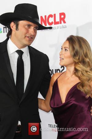 Robert Rodriguez and Alexa PenaVega - 2014 NCLR ALMA Awards - Arrivals at Pasadena Civic Auditorium - Pasadena, California, United...