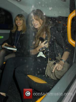 Jemima Khan - Celebrities at Chiltern Firehouse - London, United Kingdom - Friday 10th October 2014