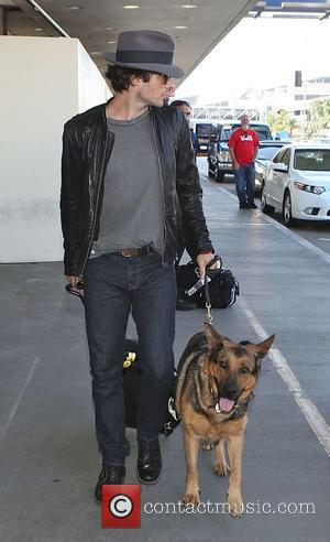 Ian Somerhalder and Nikki Reed - Nikki Reed and Ian Somerhalder depart from Los Angeles International Airport (LAX) - Los...