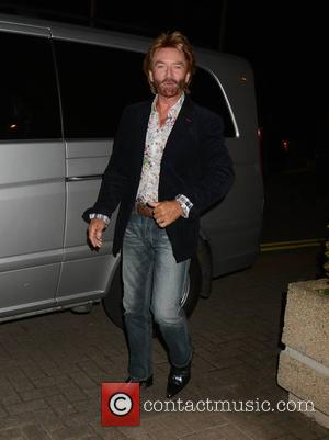 Noel Edmonds - Celebrity guests at RTE for 'The Late Late Show' - Dublin, Ireland - Friday 10th October 2014