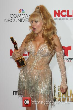 Charo - 2014 NCLR ALMA Awards - Press Room at Pasadena Civic Auditorium - Pasadena, California, United States - Friday...