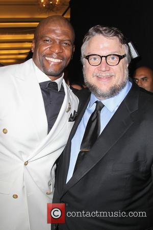 Terry Crews and Guillermo del Toro