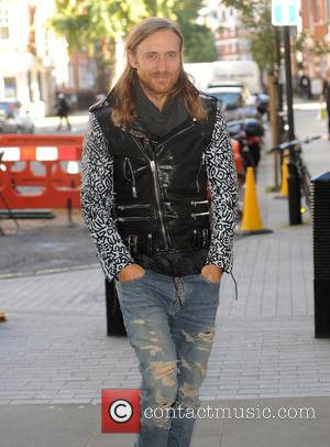 David Guetta Eyes Space Stunt