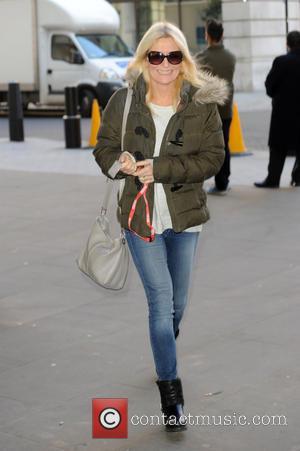 Gaby Roslin - Gaby Roslin at BBC Radio 1 - London, United Kingdom - Friday 10th October 2014