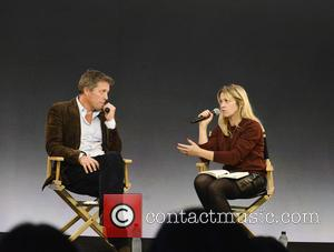 Hugh Grant and Edith Bowman