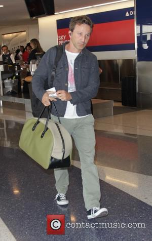 Breckin Meyer - Celebrities at LAX airport - Los Angeles, California, United States - Friday 10th October 2014