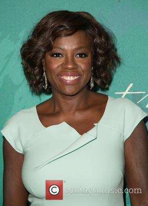 Viola Davis - Variety's 2014 Power of Women luncheon - Arrivals at Beverly Wilshire Four Seasons Hotel - Los Angeles,...
