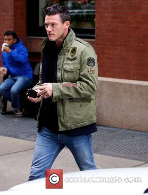 Luke Evans - Luke Evans out and about in New...