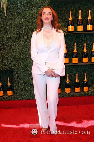 Christina Hendricks - A variety of celebs were photographed at the 5th Annual Veuve Clicquot Polo Classic at Will Rogers...