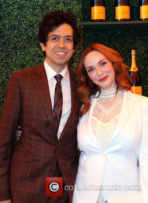 Geoffrey Arend and Christina Hendricks - A variety of celebs were photographed at the 5th Annual Veuve Clicquot Polo Classic...