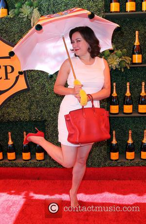 Jennifer Tilly - A variety of celebs were photographed at the 5th Annual Veuve Clicquot Polo Classic at Will Rogers...