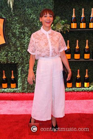 Rashida Jones - A variety of celebs were photographed at the 5th Annual Veuve Clicquot Polo Classic at Will Rogers...