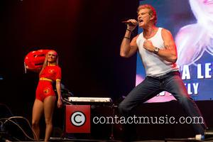 David Hasselhoff - Live performances from acts from the 80's And 90's as part of the The Hoff! Tour at...