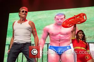 David Hasselhoff Heads To Germany For Berlin Wall Anniversary