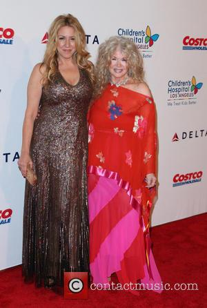 Joely Fisher and Connie Stevens
