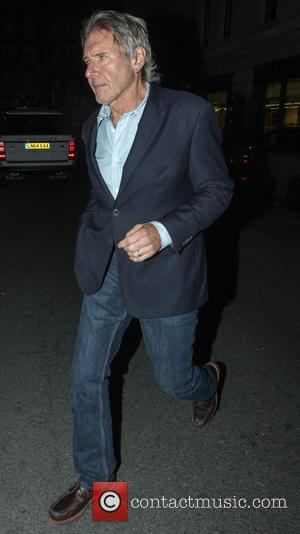 Harrison Ford - Harrison Ford arrives at May Fair Kitchen restaurant - London, United Kingdom - Saturday 11th October 2014