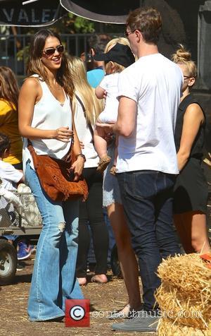 Jessica Alba and Jamie King