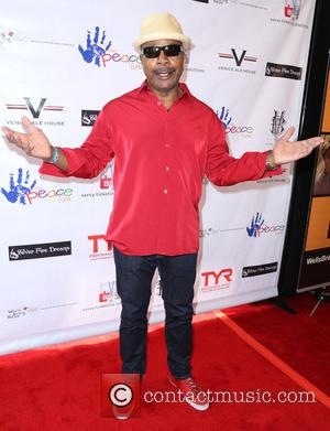 Carl Weathers - A variety of stars attended the Microsoft Peace Fund Celebrity Poker Tournament in Los Angeles, California, United...