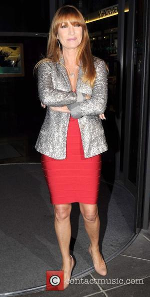 Jane Seymour - Jane Seymour leaves the RTE studios - Dublin, Ireland - Saturday 11th October 2014