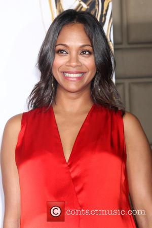 Zoe Saldana - Stars attended the 2014 NCLR American Latino Media Arts Awards ceremony at the Civic Auditorium in Pasadena,...