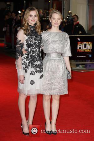 Laura Carmichael and Mia Wasikowska