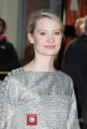 Mia Wasikowska - BFI London Film Festival - 'Madame Bovary' screening - Arrivals at Odeon Leicester Square, Odeon West End...