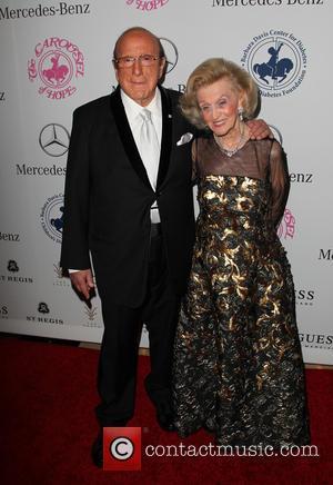 Clive Davis and Barbara Davis