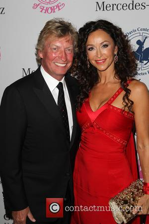 Nigel Lythgoe and Sofia Milos