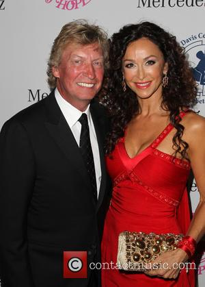 Nigel Lythgoe and Sofia Milos - A host of celebrities took to the red carpet and were photographed at the...