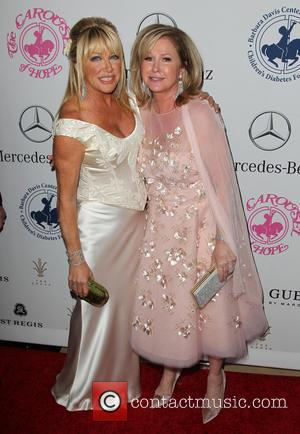 Suzanne Somers and Kathy Hilton - A host of celebrities took to the red carpet and were photographed at the...