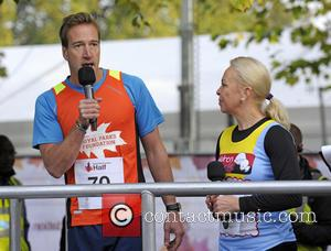 Ben Fogle and Jayne Torville - Photographs of various British celebrities as they take part in the Royal Parks Foundation...