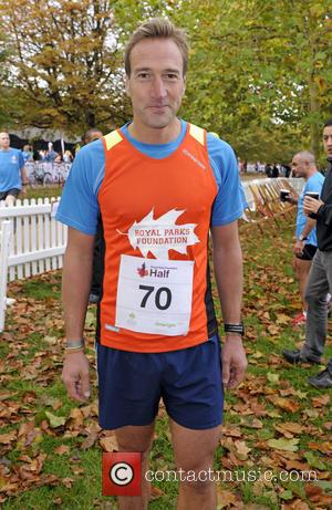 Ben Fogle - Photographs of various British celebrities as they take part in the Royal Parks Foundation Half Marathon at...