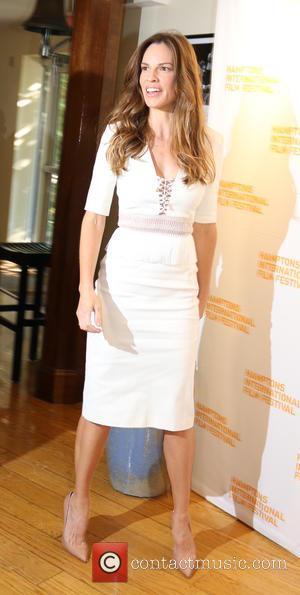 Hilary Swank - Hilary Swank at the Hamptons Film Festival - Sag Harbor, New York, United States - Sunday 12th...