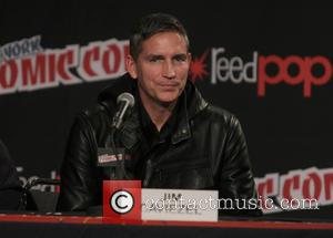 Jim Caviezel - Photo's from the 4th day of Comic Con in New York at the Javitis Center in New...