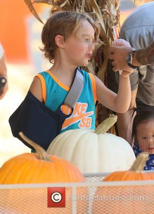 Bronx Wentz - Bassist from the American rock band Fall Out Boy Pete Wentz visited Mr. Bones Pumpkin Patch with...