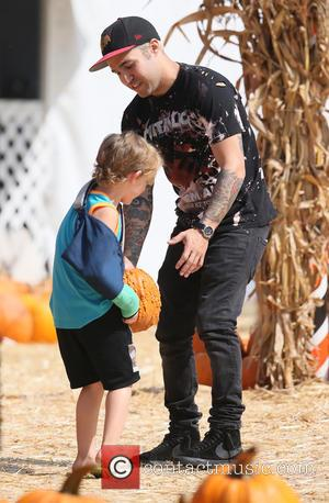 Pete Wentz and Bronx Wentz - Bassist from the American rock band Fall Out Boy Pete Wentz visited Mr. Bones...
