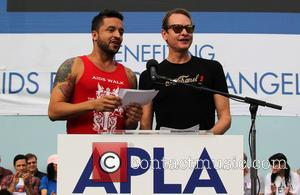 Jai Rodriguez and Carson Kressley