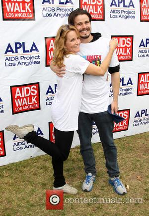 Lea Thompson and Jason Ritter - A variety of Celebrities attended the 30th Annual AIDS Walk Los Angeles, Pacific Palisades,...