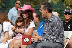 Maya Juanita Garcetti, Lisa Vanderpump and Mayor Eric Garcetti