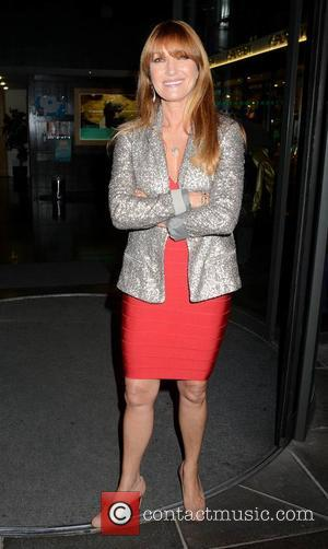 Jane Seymour - Celebrities arrive for The Saturday Night Show - Dublin, Ireland - Sunday 12th October 2014