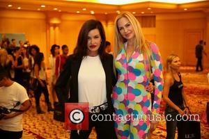 Janice Dickinson and Christina Fulton - The search for the face of the 'Le Jolie' brand at millennium biltmore hotel...