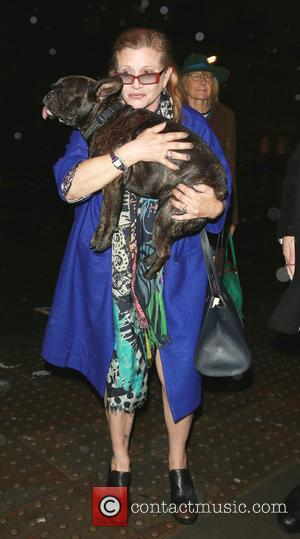 Carrie Fisher - A variety of celebs were photographed as they attended the Attitude magazine Awards 2014 at Whitehall, London,...