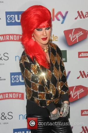 Jodie Harsh - A variety of celebs were photographed as they attended the Attitude magazine Awards 2014 at Whitehall, London,...