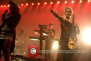 Clean Bandit, Elisabeth Troy and Grace Chatto - Clean Bandit performing live in concert at O2 ABC - Glasgow, United...