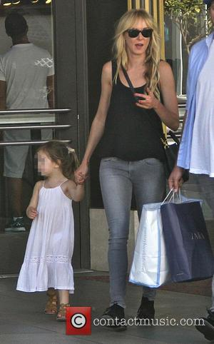 Kimberly Stewart and Delilah del Toro - Kimberly Stewart shops at The Grove - Los Angeles, California, United States -...