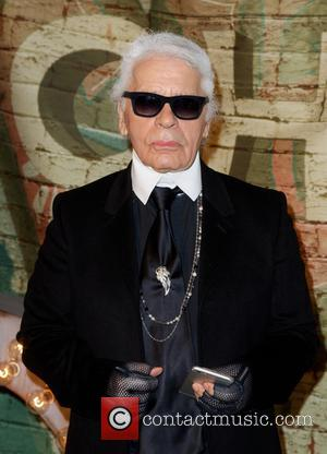Karl Lagerfeld - A Celebratory dinner and screening of 'No.5 The Film' was held in New York City and stars...