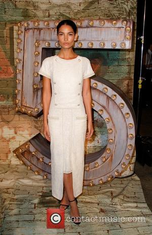 Lily Aldridge - A Celebratory dinner and screening of 'No.5 The Film' was held in New York City and stars...
