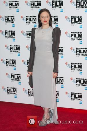 Andrea Riseborough - Photographs from the British Film Institute's London Film Festival Gala Screening of 'Silent Storm' in London, United...