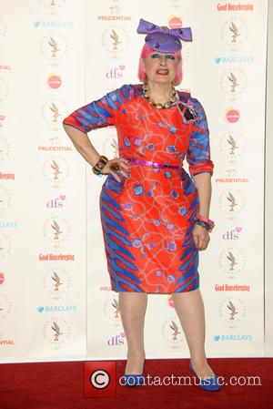 Zandra Rhodes - Women of the Year Lunch and Awards - Arrivals - London, United Kingdom - Monday 13th October...
