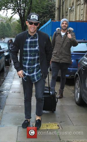 Jay James and Ben Haenow - X Factor finalists arrive at the rehearsal studio at x factor - London, United...